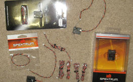 Spektrum DSMx satellites and misc lot