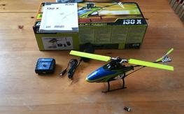 Blade 130x with Upgrades, Excellent Condition