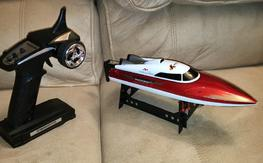 Micro Boat Double Horse 7009 $35 OBO shipped 2.4ghz upgraded