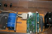 Name: IMG_0730_1.jpg Views: 551 Size: 55.3 KB Description: The printer cable has to be routed around the Divider plate.