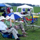 Many spectators enjoyed the funfly. It was a perfect combination of location, weather and friendly modelers.