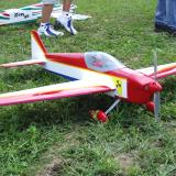 Pattern planes are beginning to become popular with electric RC flyers here. This Venus belongs to Robert Pike of Toronto, Ontario.