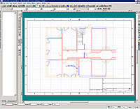 """Name: LE-1.jpg Views: 1 Size: 197.4 KB Description: My good old beloved """"Turbocad Learning Edition"""" with his very usefull menus and tool bars"""