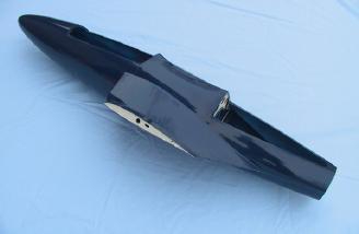 An impressive molded fuselage!