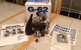 Zenoah G62 low time great running engine!
