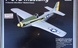 Ultra Micro P-51 RTF w/brushless conversion
