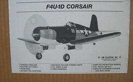 Free to Good Home - GMP F4U-1 Corsair Kit NIB...