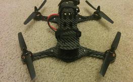 BAH Nemesis 240mm CF folding mini quad