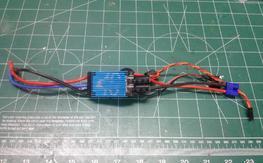 ** E-Flite 40-Amp Pro Switch-Mode BEC Brushless ESC **