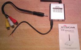 Boscam RC305 Audio/Video Receiver