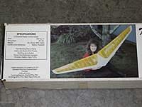 """Vintage Klingberg Wing Mk II Kit - 78"""""""