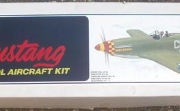 Rare Royal/Marutaka Mustang P-51 kit, NIB