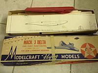 Antique Modelcraft Mach 3 Delta wing kit