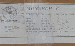 "Vintage DJ Aerotech Monarch ""C"" kit"