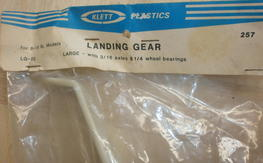 Vintage Klett LG-20 landing gear, NOS