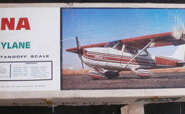 """86"""" Pica 1/5th Scale Cessna 182 R/C Model Airplane Kit"""