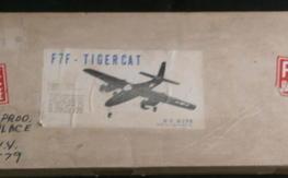 Vintage 1980's RC Kits F7F Tigercat kit, NIB