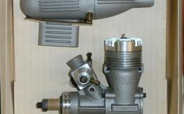 Vintage NIB K&B #4011 .40 RC engine