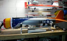 TF giant scale P-47D