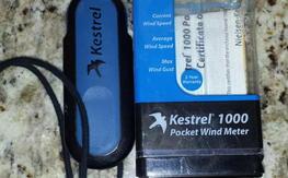 kestrel 1000 handheld wind meter