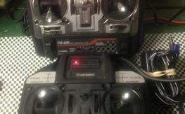 AIRTRONICS VG600 FM 6 channel RADIO WITH TRAINER/BUDDY BOX