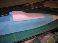 Name: IMG_4719.jpg Views: 1462 Size: 62.2 KB Description: after some sanding, the cockpit begins to take shape.