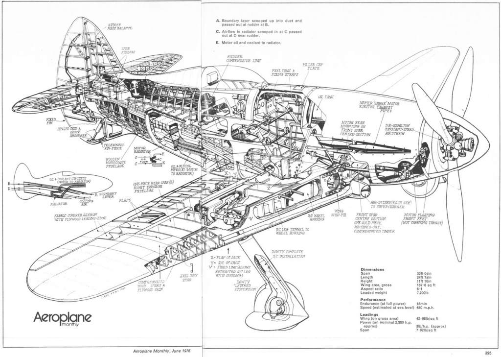 Attachment browser: Napier-Heston Cutaway.jpg by Esprit440