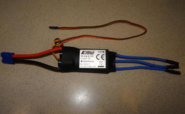New E-Flite 60-AMP Brushless ESC
