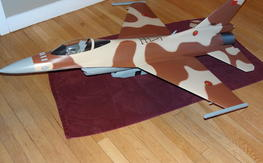 Tamjets 1/12 F-16 Fiberglass EDF AIRFRAME ONLY