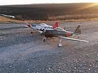 Name: .jpg Views: 190 Size: 126.2 KB Description: Last 2 planes i flew before snow flew, nov 2010