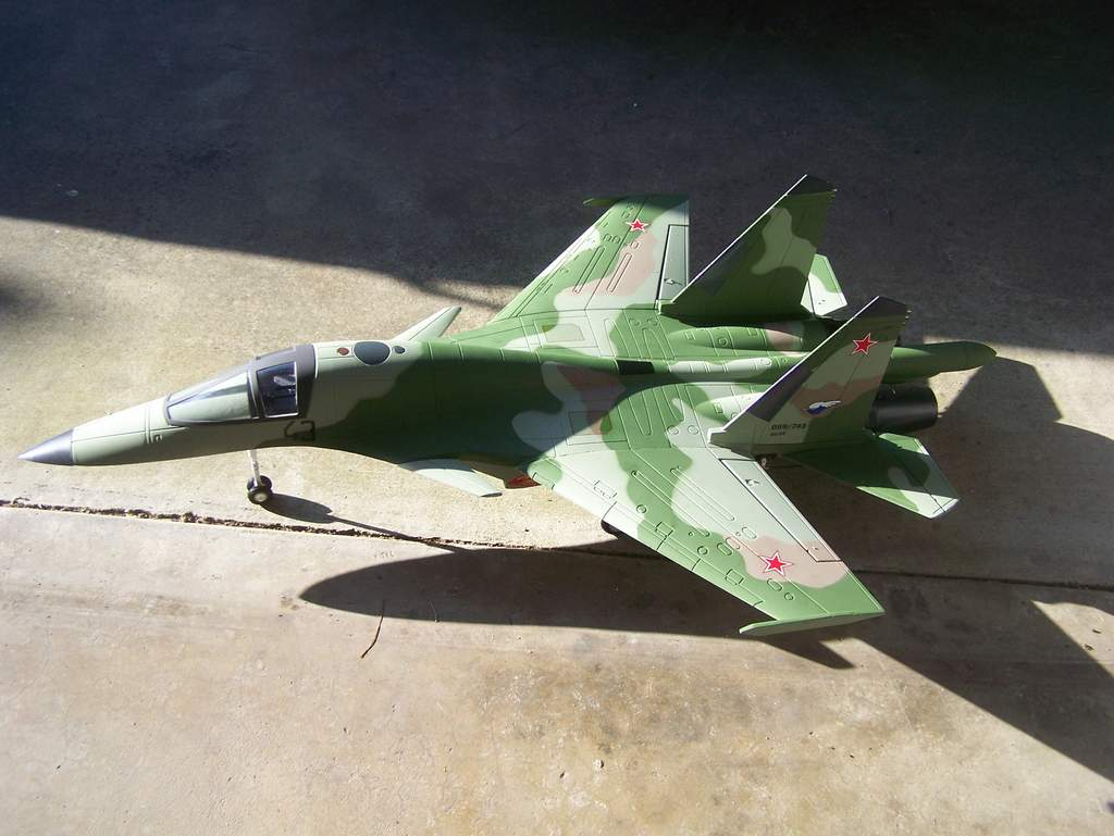 From the SU27s ashes rise the phoenix of my SU34!