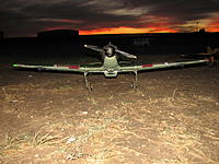 Name: flt.lo 014.jpg Views: 8 Size: 1.16 MB Description: (8) Hawker Hurricane  Sept 03 2014 Two sorties from  muddy runway