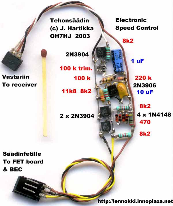 Simple Esc Circuit Diagram - Wiring Diagram Sys