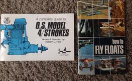 Two books: OS 4 stroke engines & How To fly floats