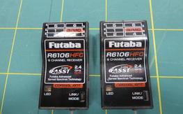 2 Futaba R6106HFC 6ch FASST Receivers $70 Shipped