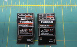 2 Futaba R6106HF 6ch FASST Receivers $60 Shipped