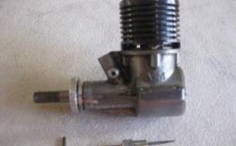"""Rare Allen Mercury """" AM-25"""" 2.5cc Diesel Engine"""