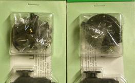2 New In Package unused Futaba Coreless Dual Ball Bearing S9304 servos w 3 servo arms