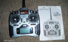 Spektrum DX6i, with instructions, shipped