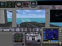 Name: Inside the bridge looking back with autopilot on.jpg
