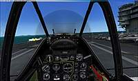Name: Mustang before touchdown with wheels retracted.jpg