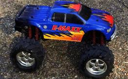 Brushless Emaxx, great shape, very fast!! Priced to sell quick