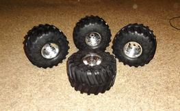 Big Jumbo Kongs w/wheels, set of 4, priced to sell quick!