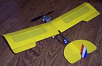 Name: Ultra Light_wing installed_pilot-engine fit_rear top view_032814.jpg