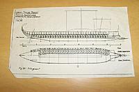 Name: Trieme011.jpg Views: 54 Size: 140.0 KB Description: Hull plan showing oar placement