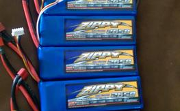 Six 4s2650 45c Zippy & Two 4s2650 35c Nano Techs