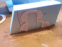 Name: 20140525_174224.jpg Views: 17 Size: 467.4 KB Description: Bulkheads are made as one side and not as top and bottom in order to make as few as possible.