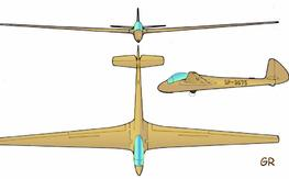 1/4 Jaskolka scale plans and canopy