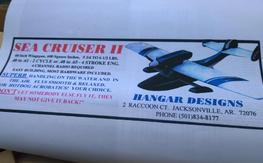 Hanger designs Sea Cruiser II Kit RARE