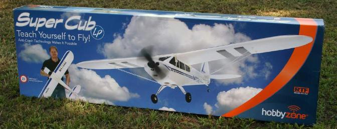 Who needs a workbench?  The Super Cub LP can go straight from the hobby shop to the flying field!